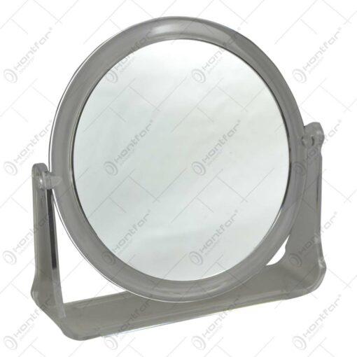 Oglinda de masa rotunda cu suport din plastic