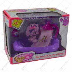 Set jucarie pentru fetite - Catelus cu accesorii (Model 1)
