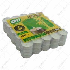 Set 100 de lumanari tip pastila