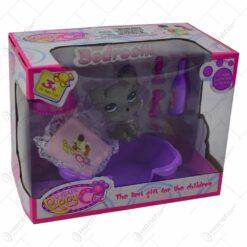 Set jucarie pentru fetite - Catelus cu accesorii (Model 2)