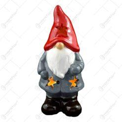 Figurina realizata din ceramica ideala pentru decoratiunea de sarbatoare