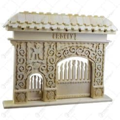 Poarta secuiasca ornamentata cu porti functionale - Romania