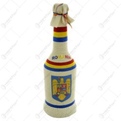Sticla pentru bauturi invelita cu snur - Design Traditional - Diferite modele