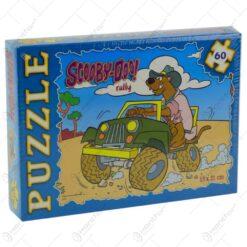 Puzzle 60 de piese - Scooby Doo - Diverse modele