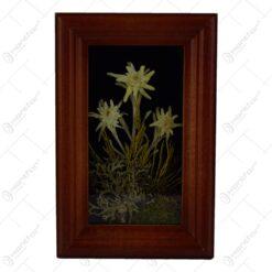 Tablou pentru perete - Design Floare de colt (Model 3)