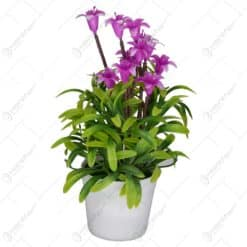 Floare artificiala in ghiveci - Campanula - Diverse culori
