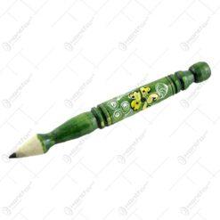 Creion decorativ - Design Traditional - Diferite culori si modele - Mare (20 CM)