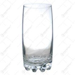 Set 6 pahare simple pentru bere realizate din sticla