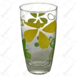 Set 6 pahare realizate din sticla - 2 modele (Tip 1)
