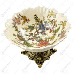 Bol ornamental realizat din ceramica (Model 1)