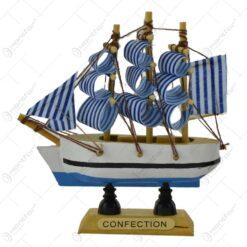 Ornament realizat din lemn - Vapor - Diverse modele (Model 1)