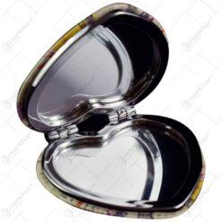 Oglinda de poseta realizata din metal si material plastic - Diferite modele (Tip 3)
