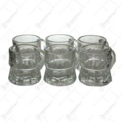 Set 6 pahare realizate din sticla