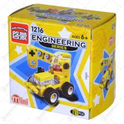 Jucarie constructiva realizata din material plastic - Masina De Constructii - Diferite modele