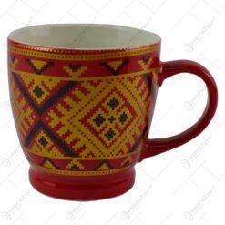 Cana realizata din ceramica - Design traditional - Diverse modele (Model 2)