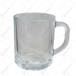 Set 2 cani pentru cafea/ceai realizate din sticla
