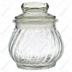 Recipient realizat din sticla pentru condimente (Model 1)