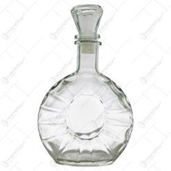 Sticla decorativa cu dop pentru bauturi