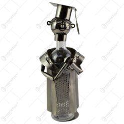 Suport realizat din metal pentru sticla de vin - Absolvent