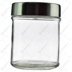 Recipient realizat din sticla pentru condimente (Model 4)
