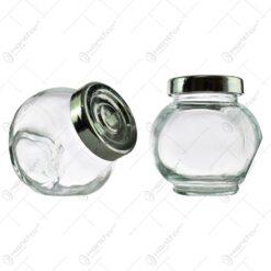 Set 2 recipiente realizate din sticla pentru condimente