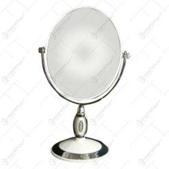 Oglinda tip stativ cu rama realizata din metal si material plastic- Design Elegant (Tip 1)