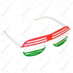 Ochelari party realizat din material plastic - Drapelul Ungariei