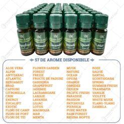 Ulei esential in sticluta - Diferite arome