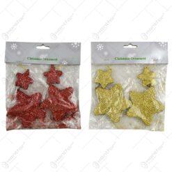 Set 2 stele pentru brad - Diverse culori