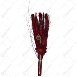 Buchet realizat din flori si plante uscate - Diverse culori (Model 3)