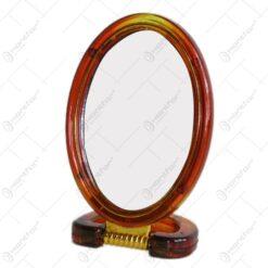 Oglinda tip stativ cu rama realizata din material plastic - Design Elegant (Tip 2)