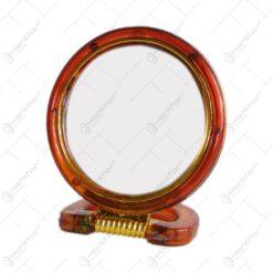 Oglinda tip stativ cu rama realizata din material plastic - Design Elegant (Tip 1)