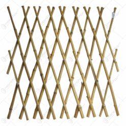 Panou decorativ realizat din bambus - Naturala