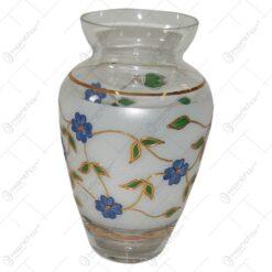 Vaza realizata dinsticla - Design Floral (Tip 1)
