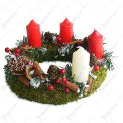 Decoratiune pentru Postul Craciunului (Advent)