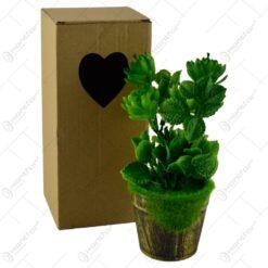 Plante artificiale in ghiveci