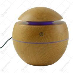 Difuzor aromaterapie in forma de glob cu lampa ambientala - Diverse culori