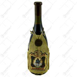Sticla de vin rosu demidulce - Shaman Merlot