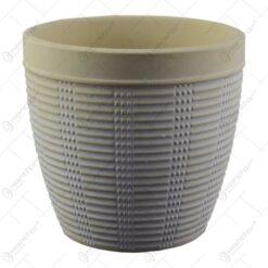 Ghiveci realizat din ceramica - Design cu forme in relief - Diverse modele (Model 5)