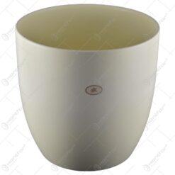 Ghiveci realizat din ceramica - Crem (Model 1)