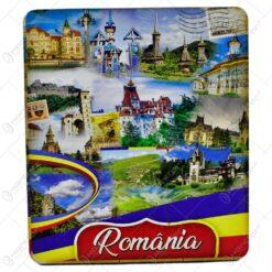 Magnet pentru frigider - Design cu cladirile istorice din Romania