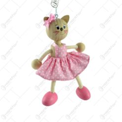 Figurina bungee jumping - Pisica