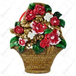 Tablou realizat din ipsos - Design cu flori - Diverse modele