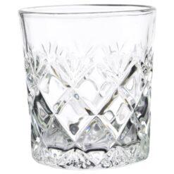 Set 6 pahare realizate din sticla pentru whiskey