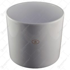 Ghiveci realizat din ceramica - Alb (Model 2)