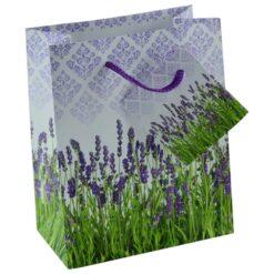 Punga pentru cadouri - Design cu lavanda (Model 1)