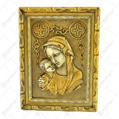 Plachet realizat din ipsos - Maria cu Isus (Model 1)