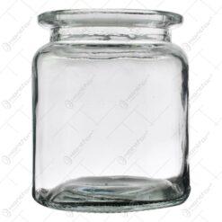 Candela realizata din sticla - Rotund
