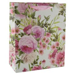 Punga pentru cadouri - Design cu flori (Model 5)