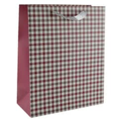 Punga pentru cadouri - Design cu patratele (Model 1)